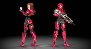 MMD Erika Agent Spartan 4K