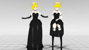 MMD Bowsette Ver. 1.1.2 by Spartan-743