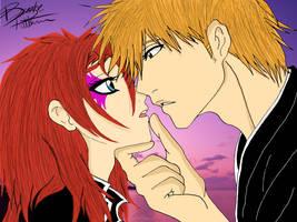 Ichigo and Kirei - 'Come Here....' Com. by KentuckyRedneck