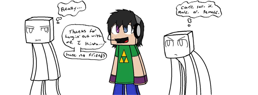 Random MineCraft base colab for no reason... :D by RavenPember
