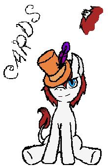 AU pony - Cards by RavenPember