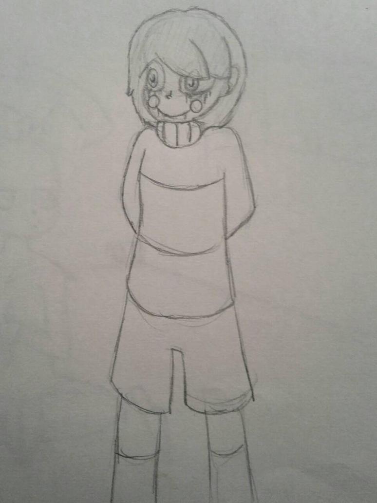 I doodled a chara by RavenPember