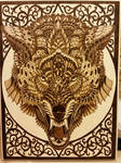 Woodburning - Skill Test - Wolf By BioWorkZ