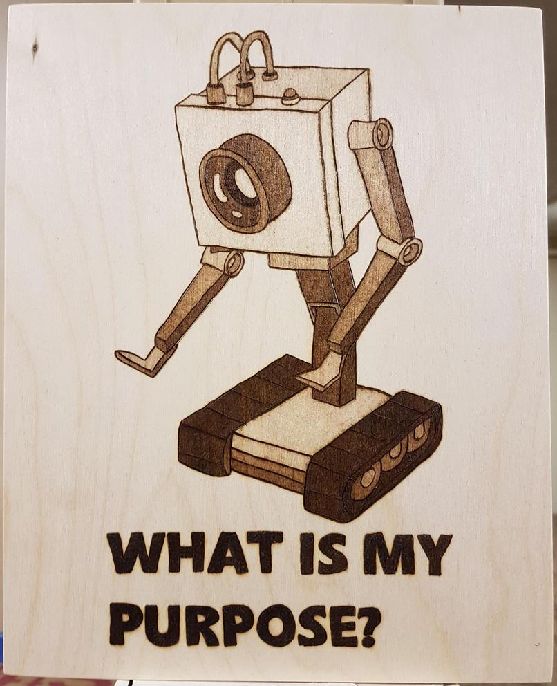woodburning rick s butter robot by stepher17 on deviantart