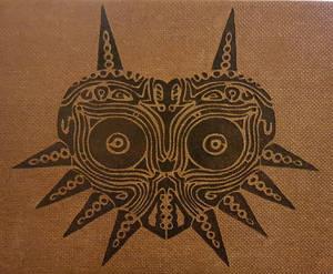 Woodburning - Majoras Mask