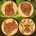 Woodburnings - Me and the Boys Meme - Magnets by PrairiePyroDesigns