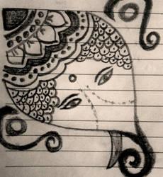 Ganesh by grikshmi