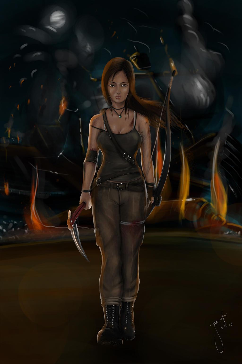 Tomb Raider - A Survivor Reborn by janvictorio