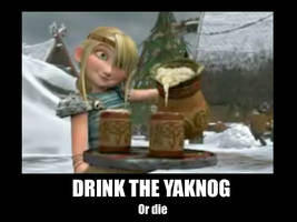 Drink the Yaknog by f4113n-4ng31-0f-r4in