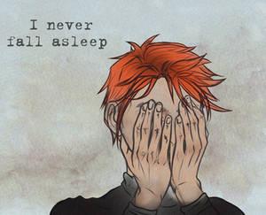 kuroiumi- asleep