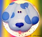 Blue Clues Cake