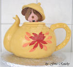 Mouse in a Teapot Cake