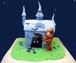Scooby Doo House Cake