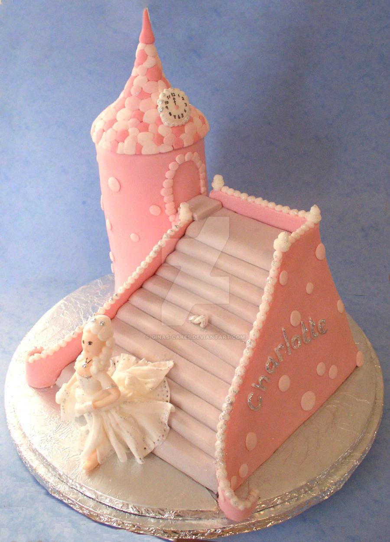 Cinderella Cake by ginas-cakes