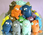 Little monsters Cake