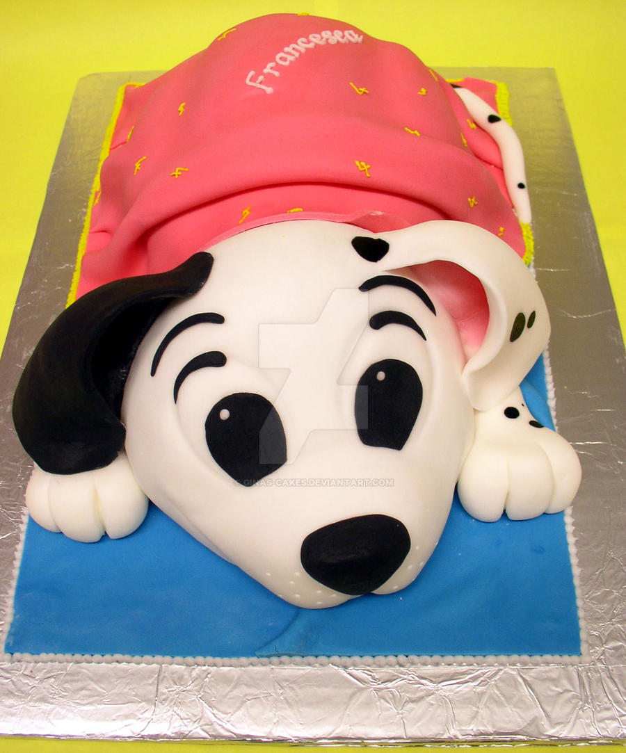 Puppy Cake by ginas-cakes
