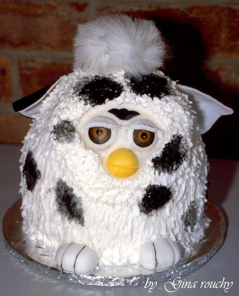 Furby Cake by ginas-cakes