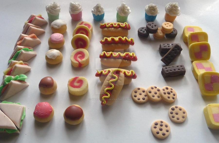 how to make mini food