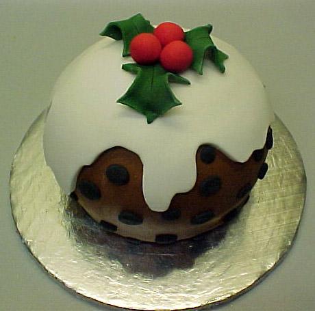 X-mas Pud Cake by ginas-cakes