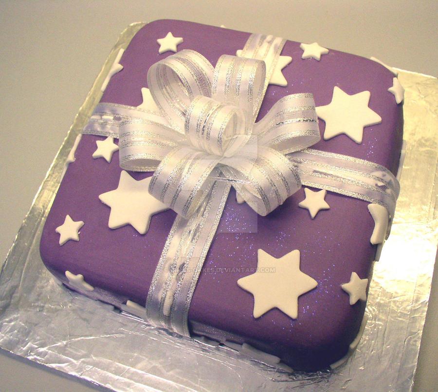 Present Cake by ginas-cakes