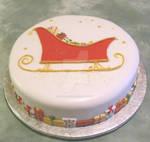 Sleigh Cake