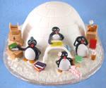 Penguin's Moving Cake