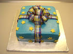 Square Present Cake