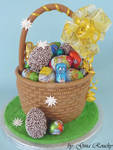 Egg Basket Cake
