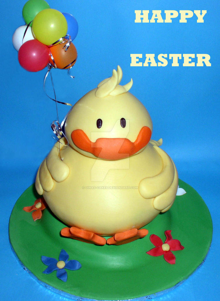 Happy Easter! by ginas-cakes