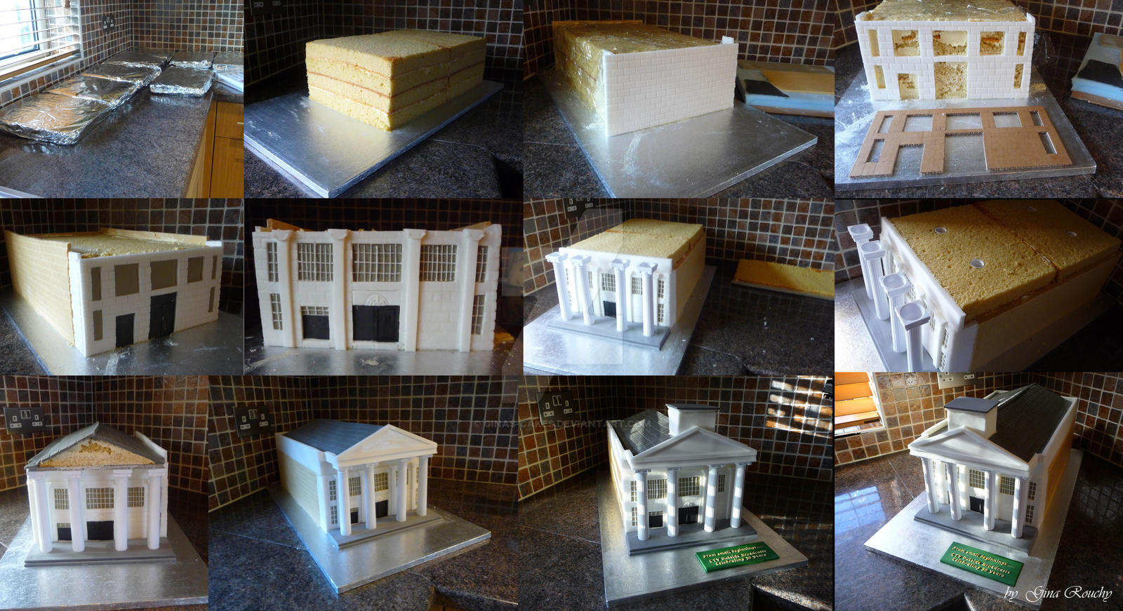 CTV Building Stages by ginas-cakes
