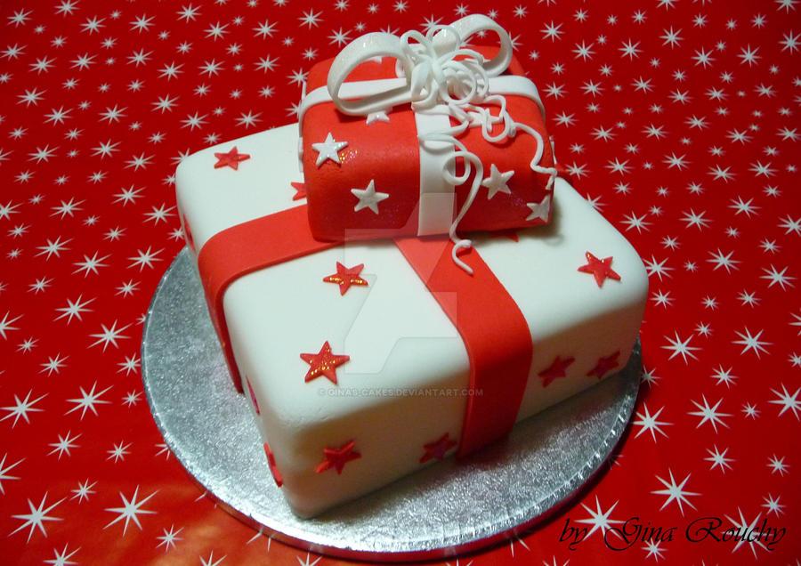Prezzie Cake by ginas-cakes
