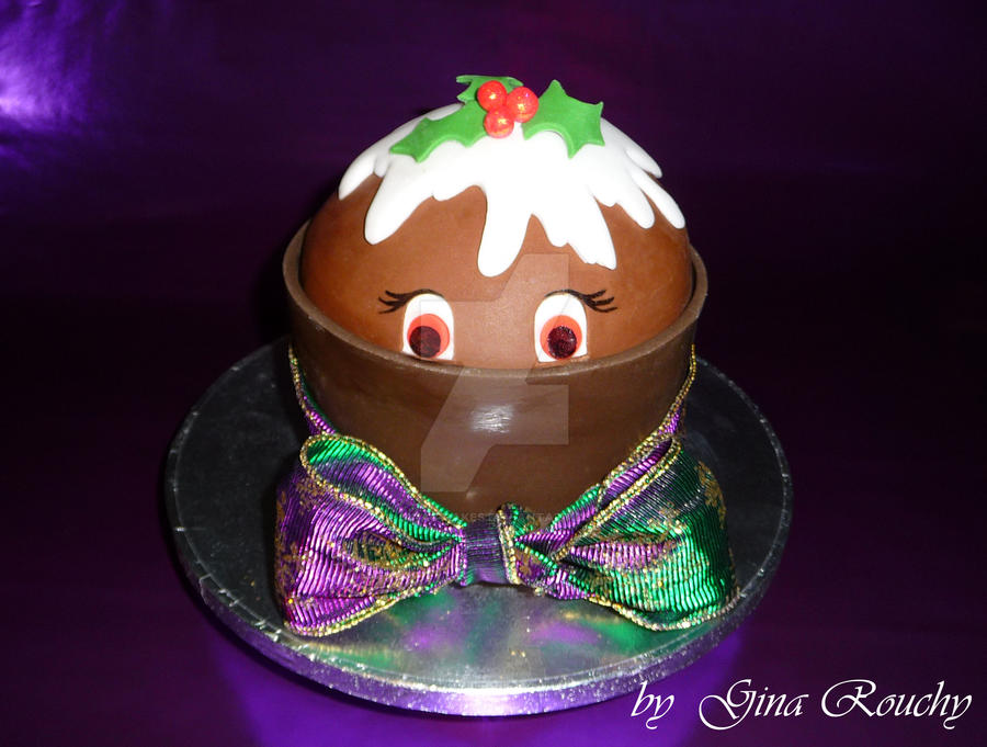 Pudding Pot Cake by ginas-cakes