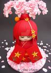 Kokeshi doll Cake