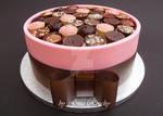 Pink Chocolate Box Cake by ginas-cakes