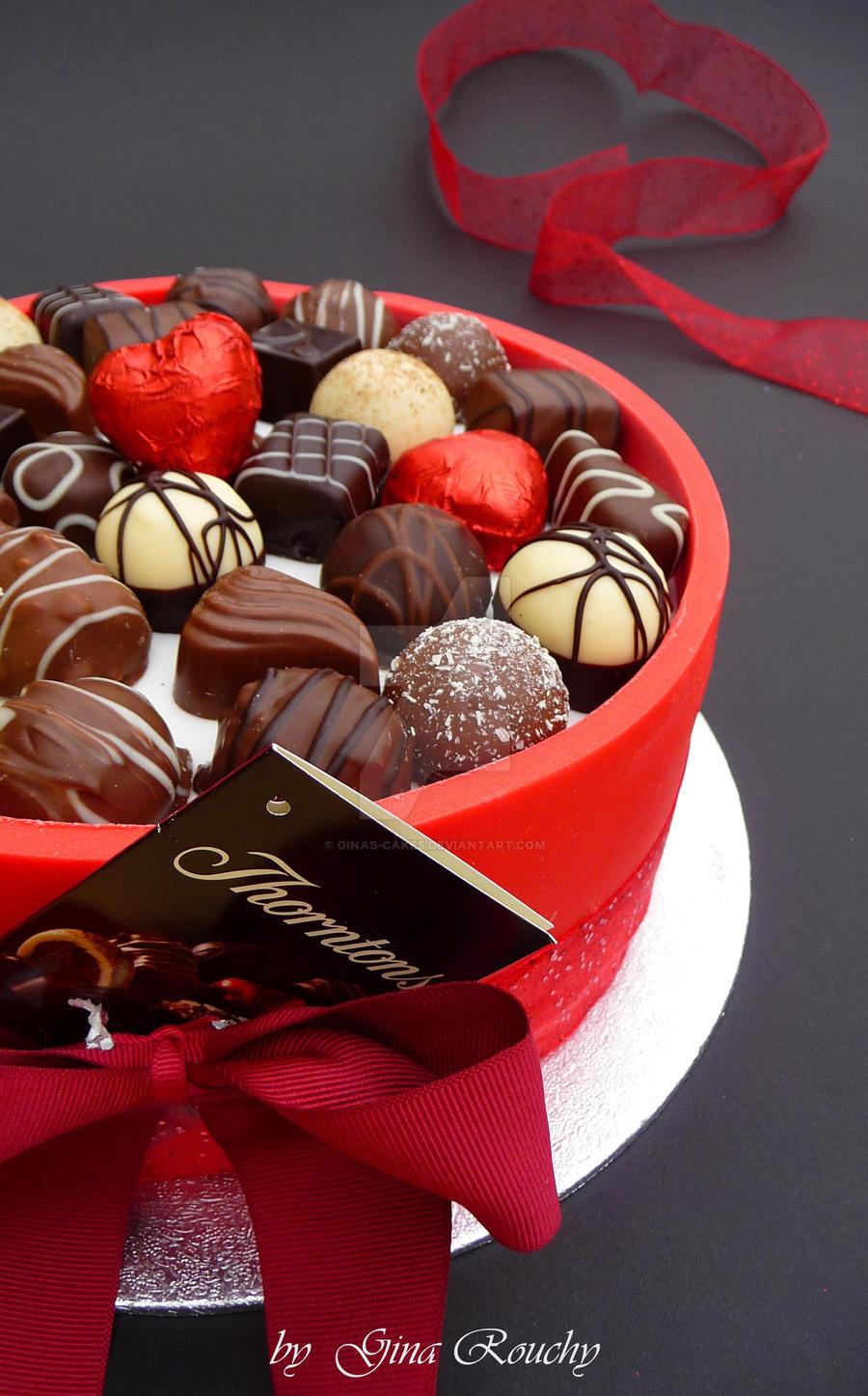 Valentines Cake by ginas-cakes