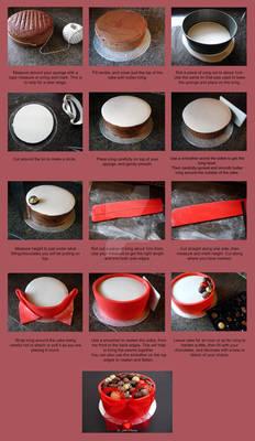 Tutoral - Chocolate Box Cake