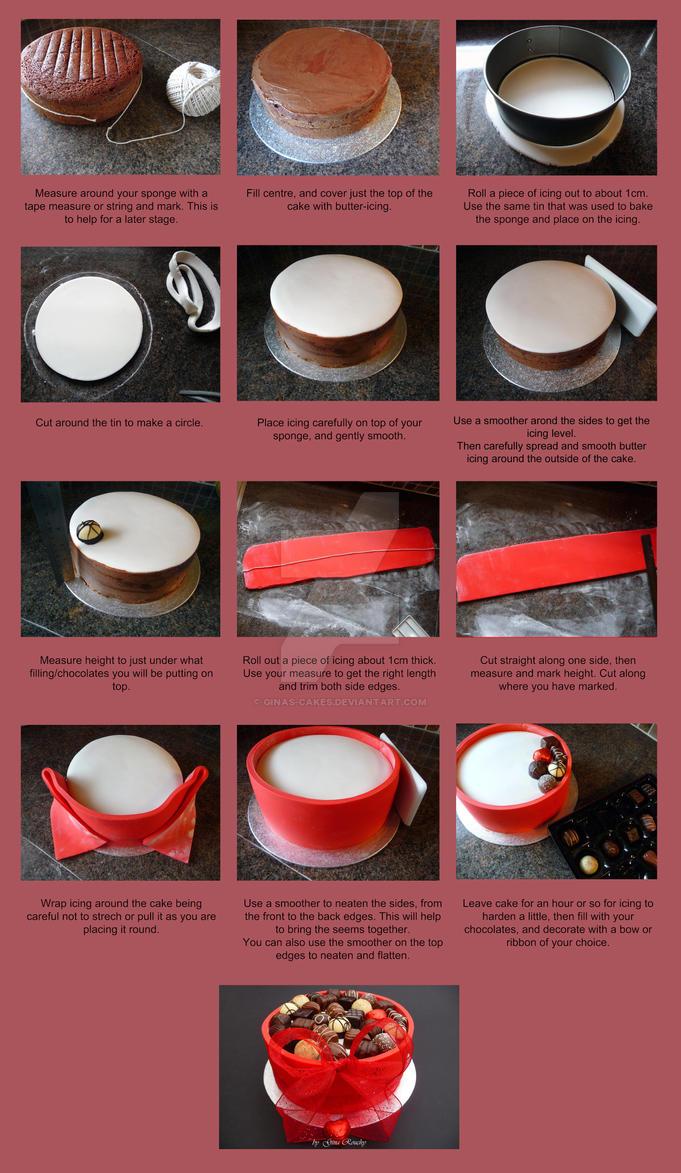 Tutoral - Chocolate Box Cake by ginas-cakes
