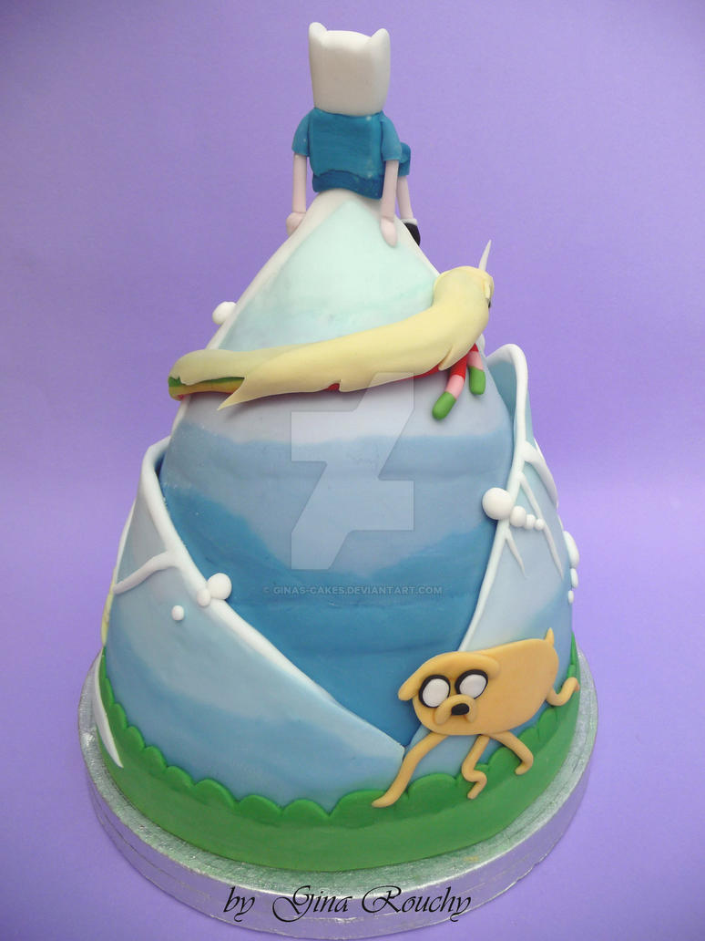 How To Make An Adventure Time Cake