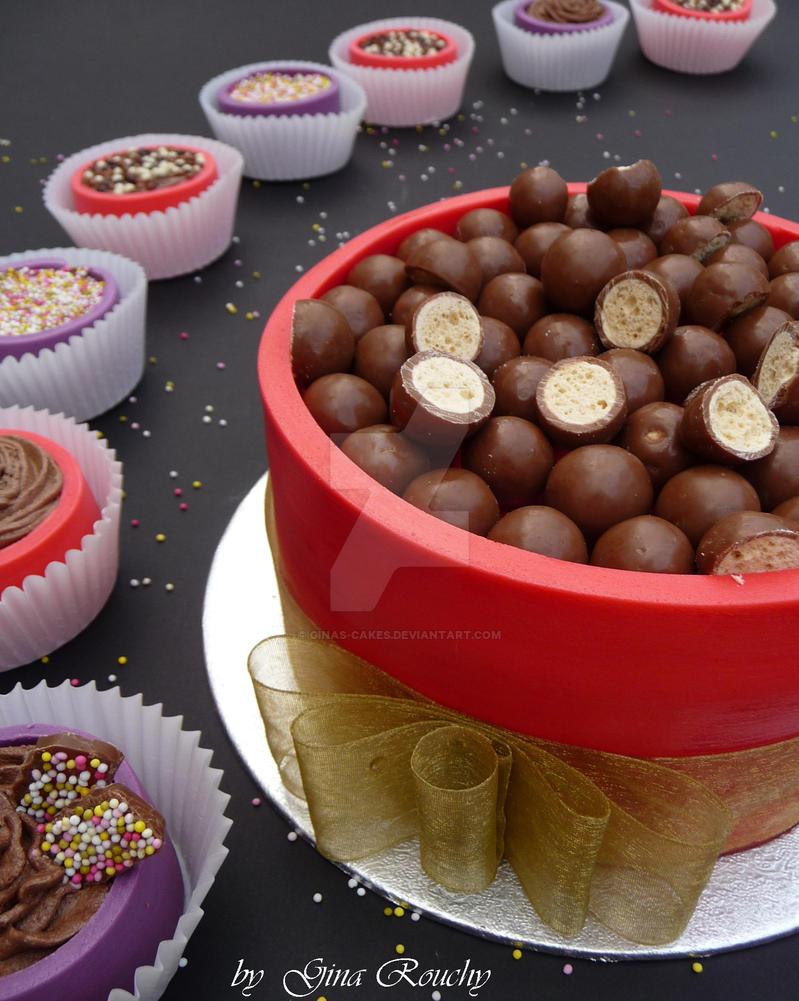 Malteser Cake by ginas-cakes