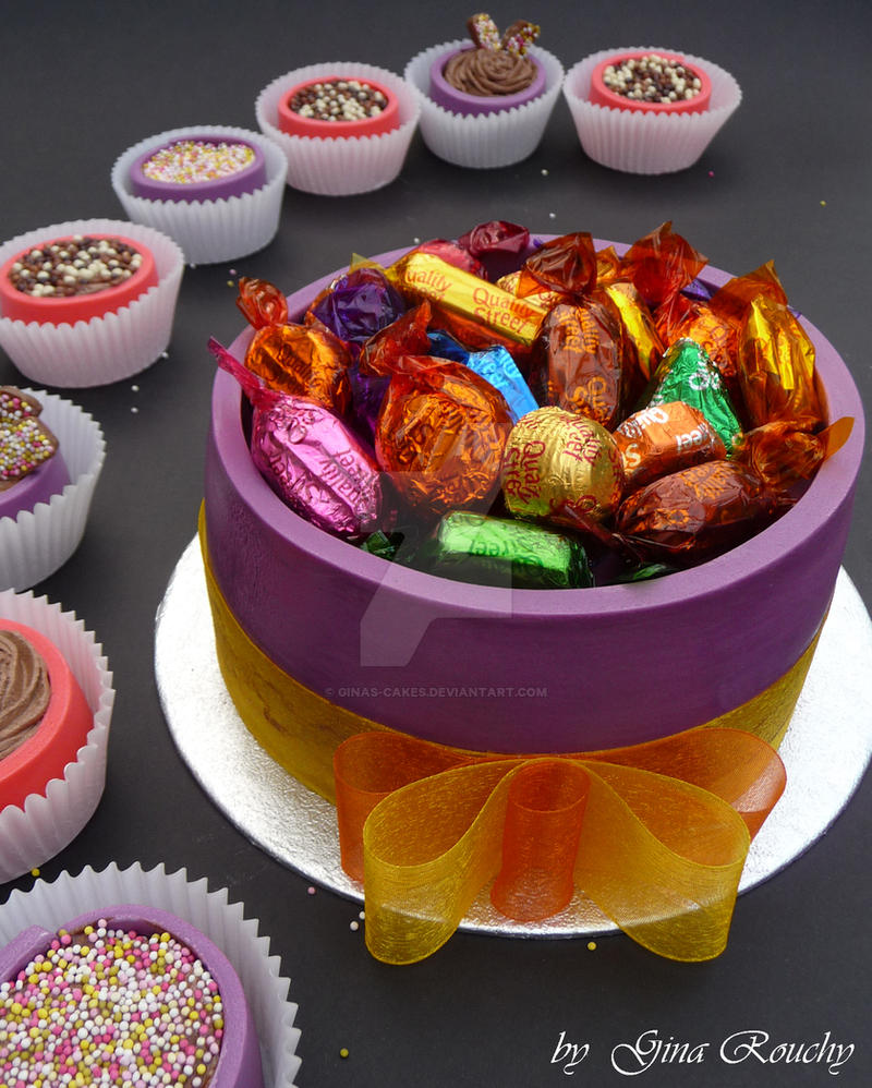 Quality Street Cake by ginas-cakes