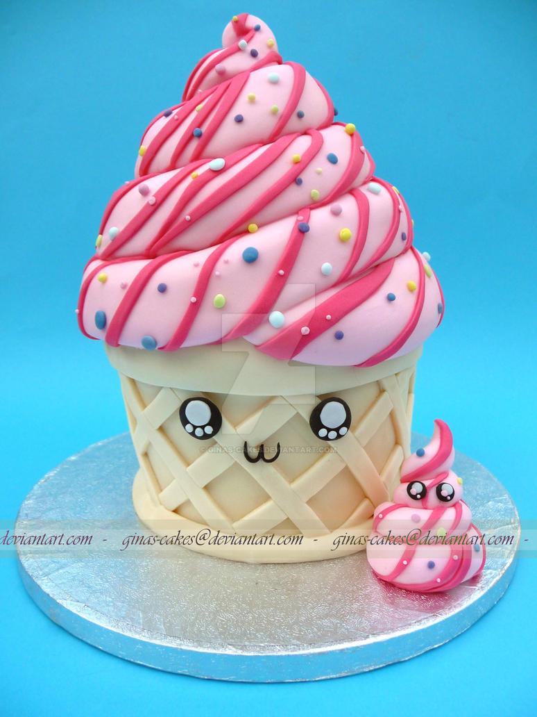 Ice-cream Cake by ginas-cakes