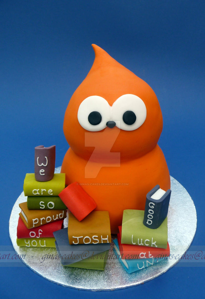 EDF Mascot Cake by ginas-cakes