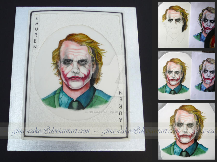 The Joker Card Cake by ginas-cakes