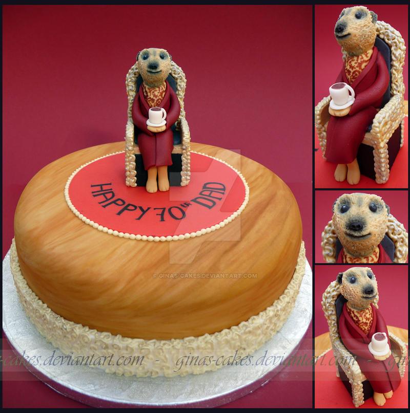 Meerkat Cake by ginas-cakes
