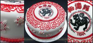 Karate Party Cake