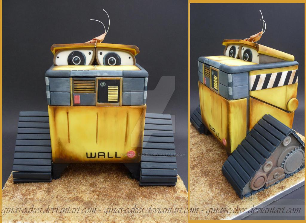 WALL E Cake By Ginas Cakes