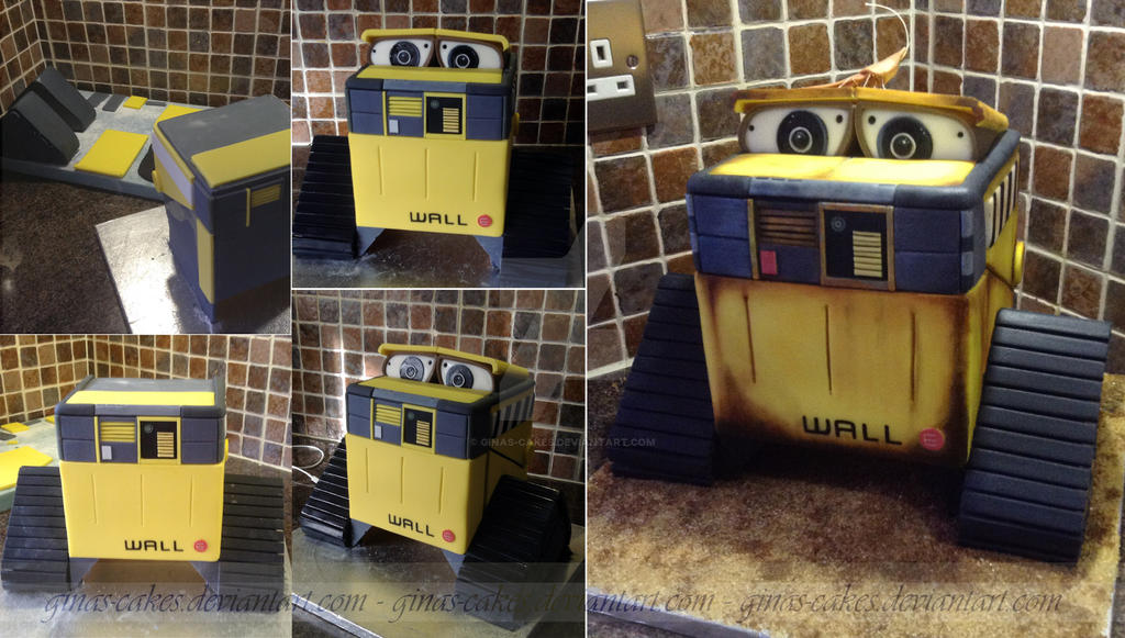 wall e stages by ginas cakes on deviantart