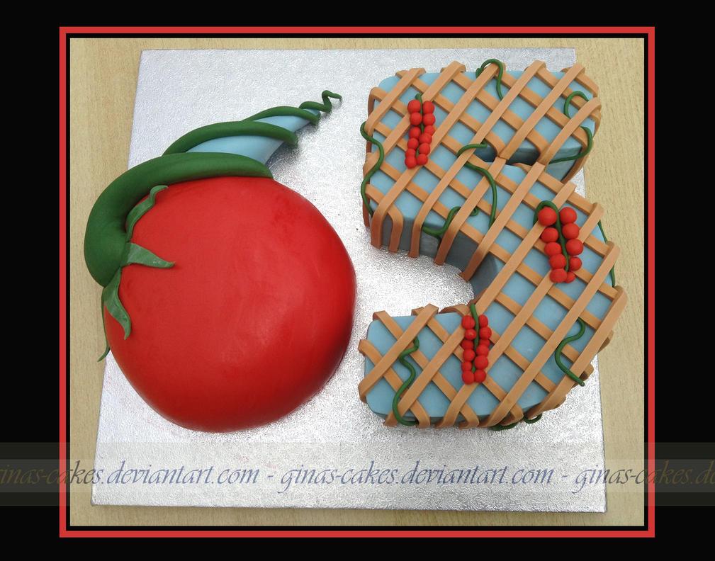 65 Cake by ginas-cakes