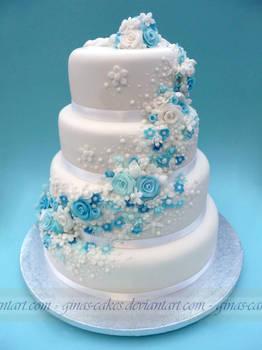 Super hero's Wedding cake side 2
