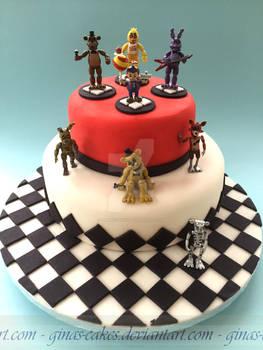 5 Nights at Freddies Cake
